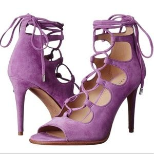 *SALE* Kira 'Wildflower' Suede Lace Up Sz 5, 5.5